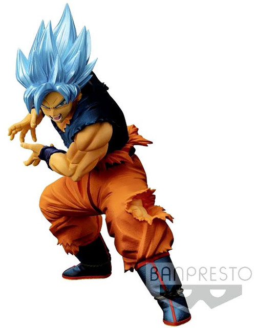 Dragon Ball Super Maximatic Super Saiyan Blue Goku 7.9-Inch Collectible PVC Figure #02