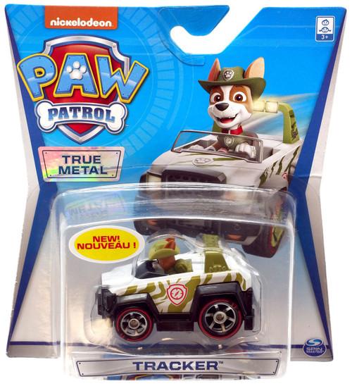 Paw Patrol True Metal Tracker Diecast Car