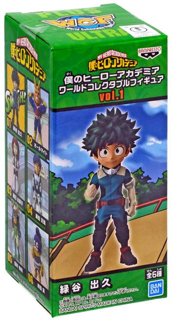 My Hero Academia WCF World Collectable Figure Izuku Midoriya (Deku) 2.8-Inch Mini PVC Figure Vol.1