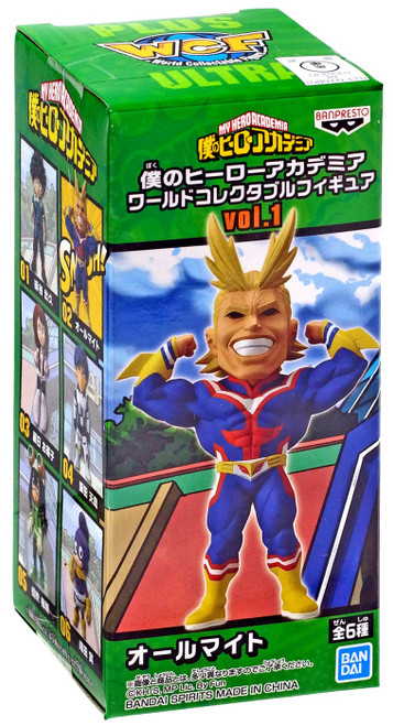 My Hero Academia WCF World Collectable Figure All Might 2.8-Inch Mini PVC Figure Vol.1