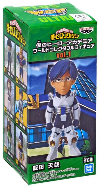 My Hero Academia WCF World Collectable Figure Tenya Iida 2.8-Inch Mini PVC Figure Vol.1