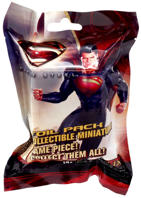 DC HeroClix Man of Steel Booster Pack