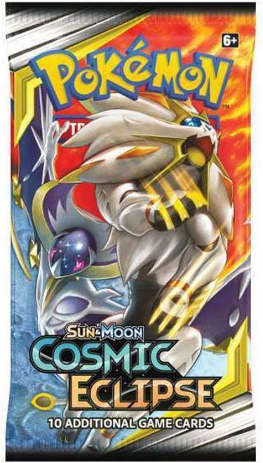 Pokemon Trading Card Game Sun & Moon Cosmic Eclipse Booster Pack [10 Cards]
