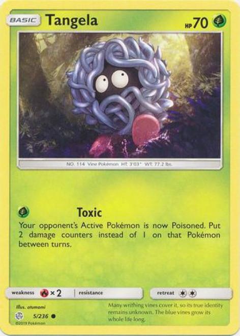 Pokemon Trading Card Game Cosmic Eclipse Common Tangela #5