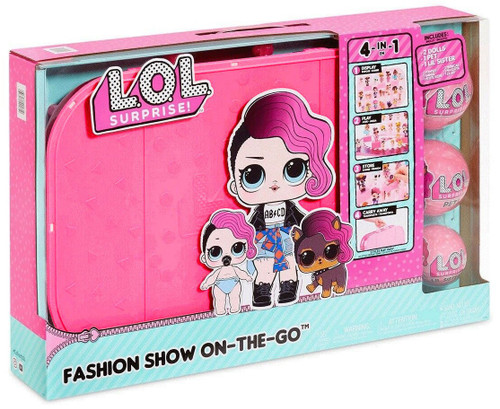LOL Surprise Fashion Show On The Go Playset [Bright Pink]