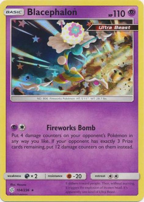 Pokemon Trading Card Game Cosmic Eclipse Rare Holo Blacephalon #104