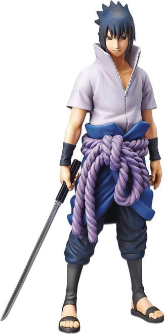 Naruto Shippuden Grandista Nero Sasuke Uchiha 10.7-Inch Collectible PVC Figure