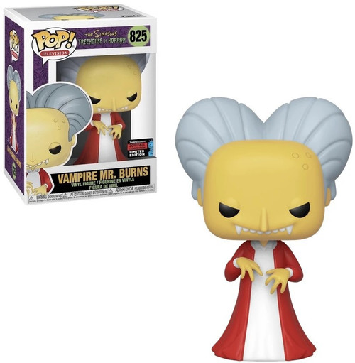 Funko The Simpsons Treehouse of Horror POP! Animation Vampire Mr. Burns Exclusive Vinyl Figure #825