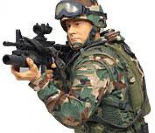 McFarlane Toys Military 3 Inch Series 1 Army Paratrooper Mini Figure [RANDOM Ethnicity]