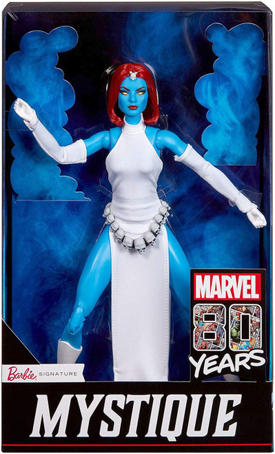 Marvel 80th Anniversary Barbie Signature Mystique Exclusive Doll