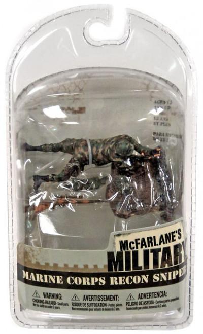 McFarlane Toys Military 3 Inch Series 1 Marine Corps Recon Sniper Mini Figure [Random Ethnicity, Damaged Package]