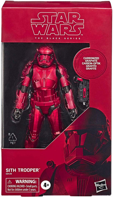 Star Wars The Rise of Skywalker Black Series Sith Trooper Exclusive Action Figure [Carbonized Graphite, Metallic]