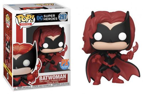 Funko DC Super Heroes POP! Heroes Batwoman Exclusive Vinyl Figure #297