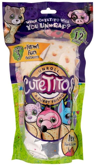 Cutetitos Mini Plush Series 3 7.5-Inch Mystery Pack