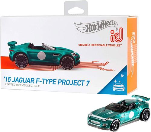Hot Wheels ID '15 Jaguar F-Type Project 7 Diecast Car