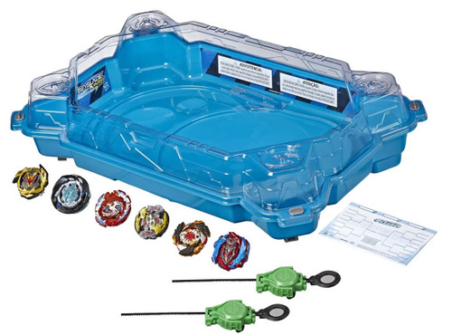Beyblade Burst Turbo Slingshock Battle League Championship Clash Battle Set