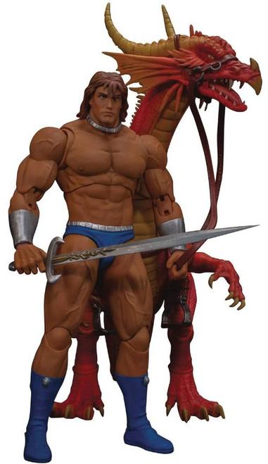 Golden Axe Ax Battler & Red Dragon Action Figure