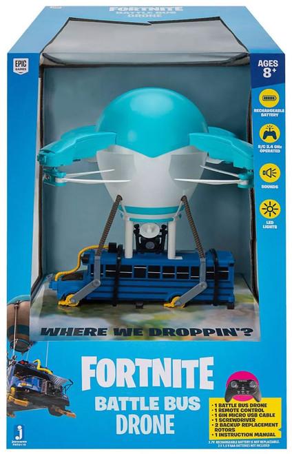 Fortnite Battle Bus 7-Inch Drone