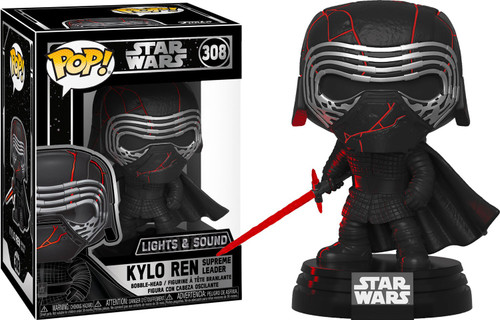 Funko The Rise of Skywalker POP! Star Wars Kylo Ren (Supreme Leader) Vinyl Figure #308 [Electronic]