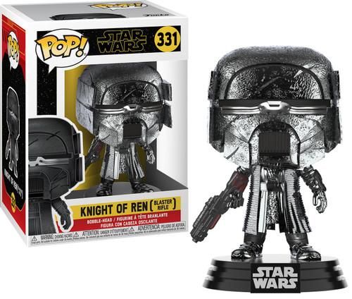 Funko The Rise of Skywalker POP! Star Wars Knight of Ren Vinyl Figure [Blaster, Hematite Chrome]