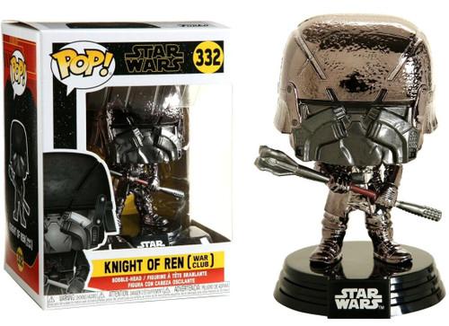 Funko The Rise of Skywalker POP! Star Wars Knight of Ren Vinyl Figure #332 [War Club, Hematite Chrome]