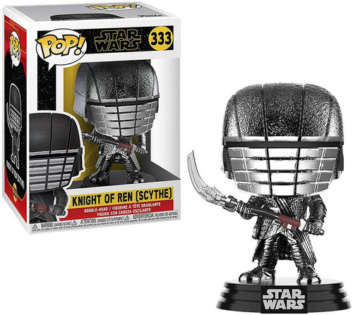 Funko The Rise of Skywalker POP! Star Wars Knight of Ren Vinyl Figure #333 [Scythe, Hematite Chrome]