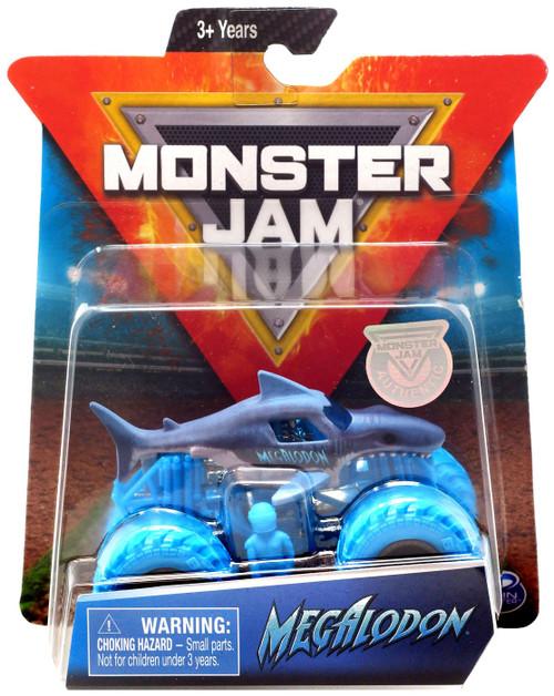 Monster Jam Megalodon Diecast Car [Blue Tires]