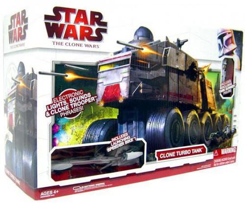 Star Wars Clone Wars Clone Turbo Tank Vehicle [Damaged Package]