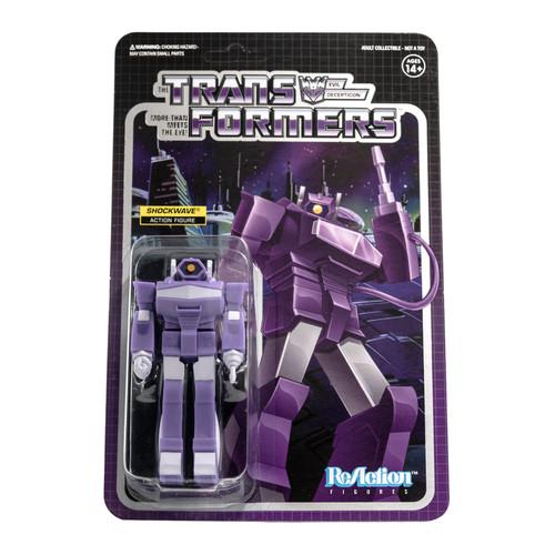 ReAction Transformers Shockwave Action Figure