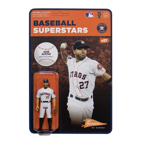 ReAction MLB Modern Superstars Houston Astros Jose Altuve Action Figure