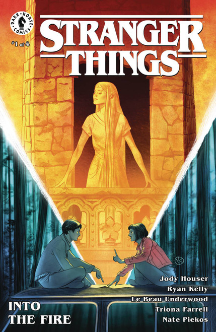 Dark Horse Stranger Things Into the Fire #1 Comic Book [Viktor Kalvachev Cover A]