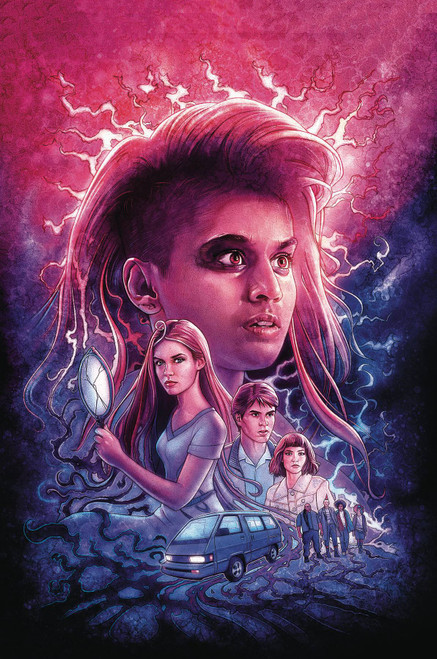 Dark Horse Stranger Things Into the Fire #1 Comic Book [Kyle Lambert Cover B]