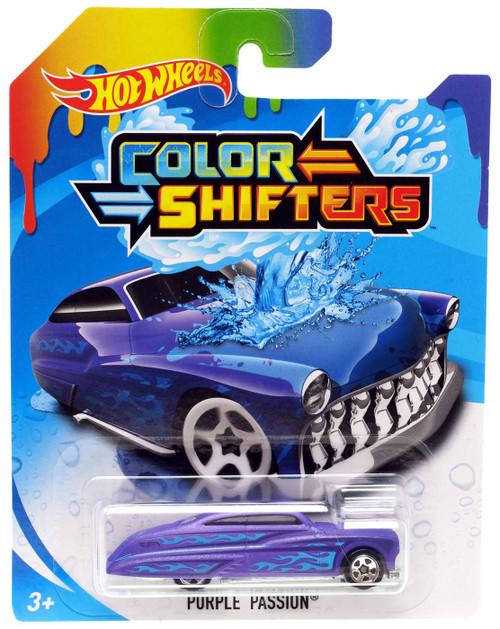 Hot Wheels Color Shifters Purple Passion Diecast Car
