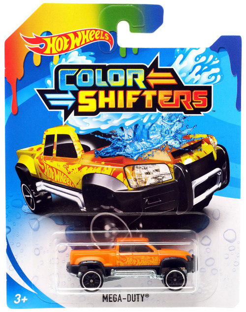 Hot Wheels Color Shifters Mega-Duty Diecast Car