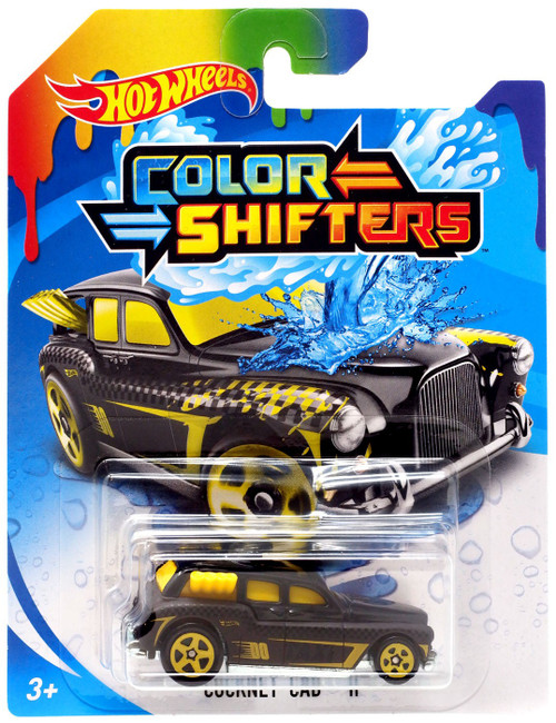 Hot Wheels Color Shifters Cockney Cab Diecast Car