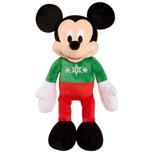 Disney 2019 Holiday Mickey Mouse Exclusive 22-Inch Plush [Green Shirt, Red Pants]