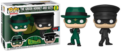 Funko POP! TV The Green Hornet & Kato Exclusive Vinyl Figure