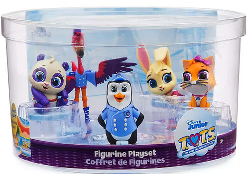 Disney Junior TOTS (Tiny Ones Transport Service) T.O.T.S. 5-Piece PVC Figurine Play Set