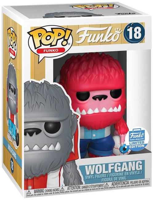 Funko Spastik Plastik POP! Wolfgang Exclusive Vinyl Figure #18 [Pink]