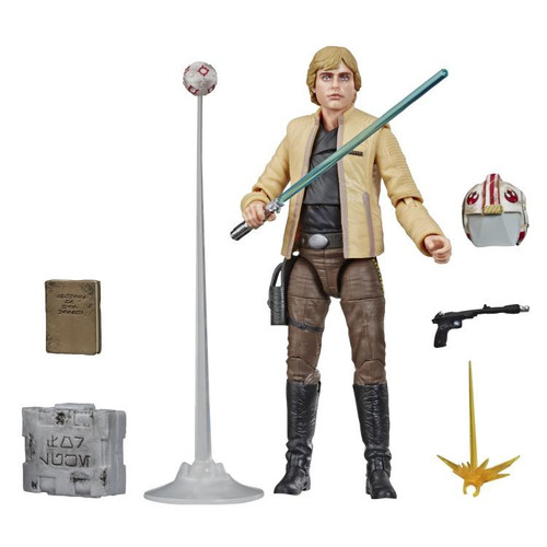 Star Wars Black Series Luke Skywalker Exclusive Deluxe Action Figure [Skywalker Strikes]