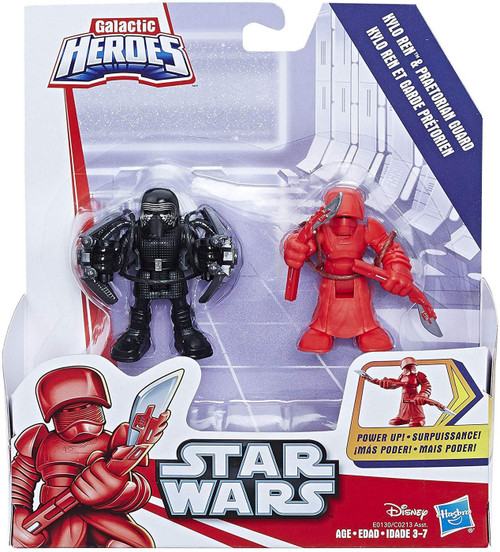 Star Wars Galactic Heroes Kylo Ren & Elite Praetorian Guard Mini Figure 2-Pack