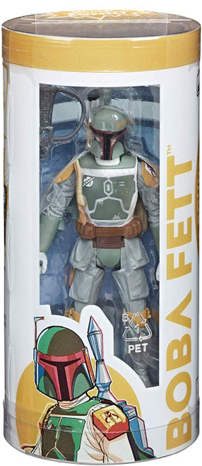 Star Wars Galaxy of Adventures Story in a Box Boba Fett Action Figure & Comic