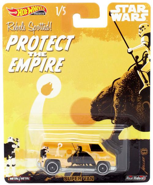 Hot Wheels Star Wars Super Van Die-Cast Car [Protect the Empire]