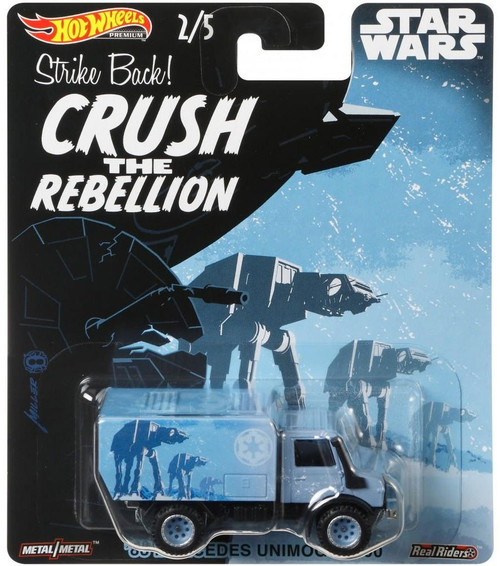 Hot Wheels Star Wars '88 Mercedes Unimog U1300 Die-Cast Car [Crush the Rebellion]