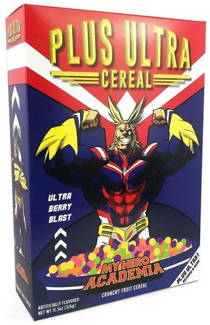 My Hero Academia Plus Ultra Exclusive Breakfast Cereal