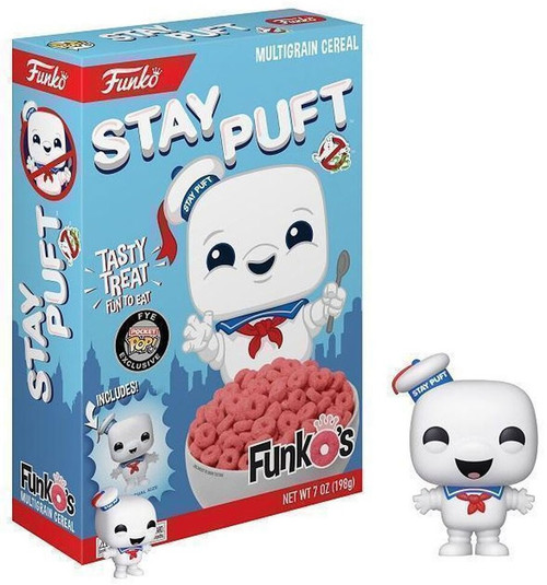 FunkO's Ghostbusters Stay Puft Exclusive 7 Oz. Breakfast Cereal