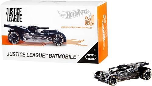 Hot Wheels ID Justice League Batmobile Diecast Car