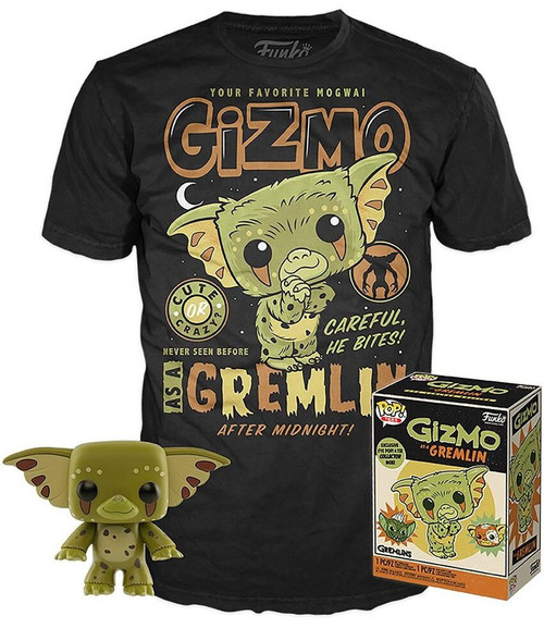Funko Gremlins POP! Movies Gizmo as a Gremlin Exclusive Vinyl Figure & T-Shirt [X-Large]