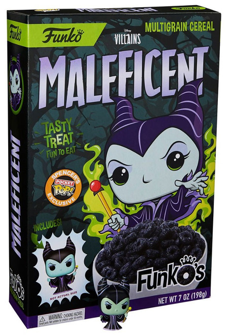FunkO's Disney Villains Maleficent Exclusive Breakfast Cereal