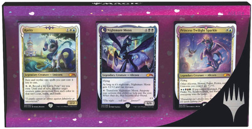 MtG My Little Pony Ponies: the Galloping Card Set